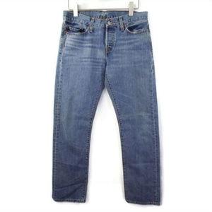 VTG 501 LEVI'S || Button Fly Straight Leg Jeans